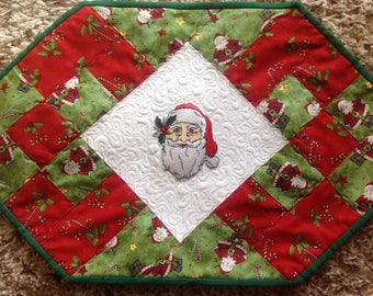 Christmas Quilted Table Runner