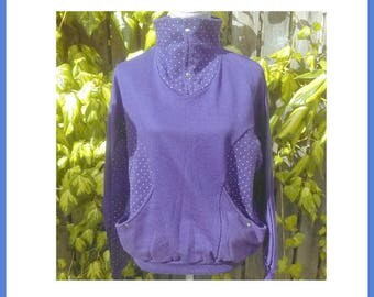 One Purple Story track-Suit Top