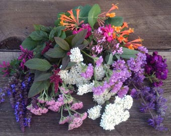 Organic, Fragrant Dried Flowers and Herbs, Dried Flowers for Crafts, Dried Flowers for Potpourri, Dried Flowers for Soapmaking,