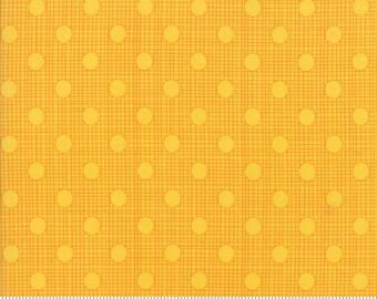 "Moda ""Wing & Leaf"" by Gina Martin ~ Tonal Dots ~ Dandelion 10067 13 ~ By The Half Yard ~"