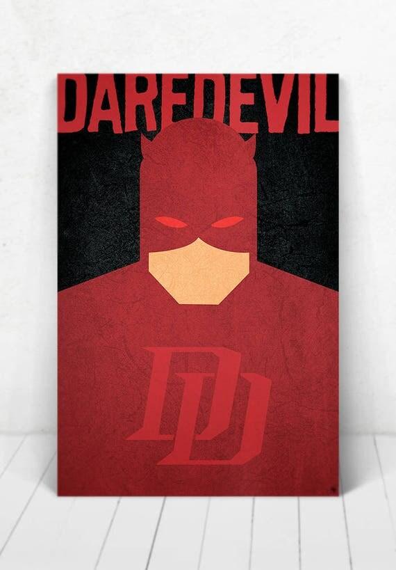 Daredevil Poster - Illustration / Daredevil Poster / Daredevil