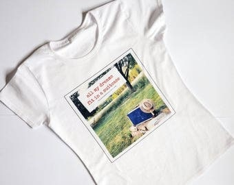 Travel Quote T-shirt  for Women