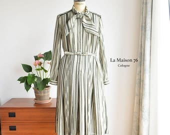 Vintage 70s Dress German Style Fink Modell