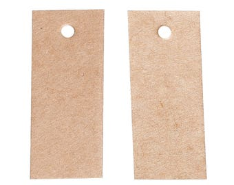 Set of 25 Kraft tags