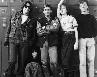 ON SALE The Breakfast Club - Vintage - Photo - 1985 - Molly Ringwald - Judd Nelson - Emilio Estevez - Ally Sheedy - Anthony Michael Hall - P