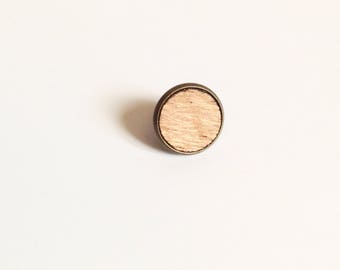 "Badges ""Kachiko"" mahogany wood"