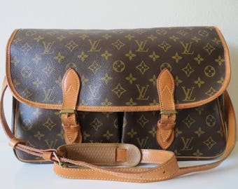 Louis Vuitton Monogram Sac Gibeciere GM Vintage from 1991