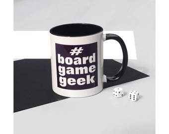 Board Game Geek gaming mug