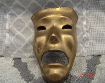 Brass Smile Now Cry Later Face Mask