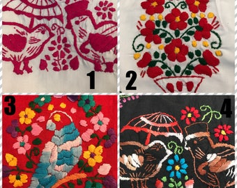 Mexican Embroidered Rompers