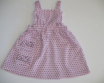 BABY GIRL DRESS, baby dress, girl dress, baby wear, pink dress, summer, special occasion, holiday, handmade