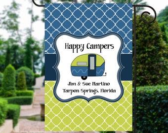 Camping  Sign | Camping Gift | Camping Flag | Camper Decor | Camping Signs | Camper Decor  | Camp Sign | Camp Site Flag