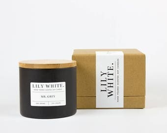 Mr. Grey Candle (385 g)