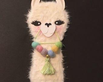Llama Planner clip, bookmark, paper clip, planner accessories for kikki k, websters pages, erin codren