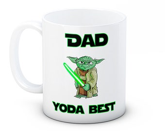 Dad Yoda Best - Star Wars Father's Day Funny Coffee Tea Mug