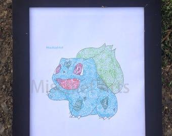 Pokemon Bulbasaur Artwork