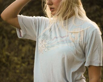 Vintage Distressed Tropical T-Shirt
