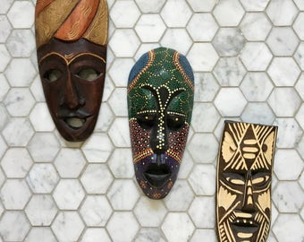 Wood Mask Collection