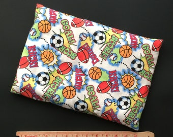 "COZIE Grande Corn Bag, Large size 9""x12"",  Sports Cover with Inner Liner, Heating Pad, Bed Warmer, Moist Heat, Corn bags"