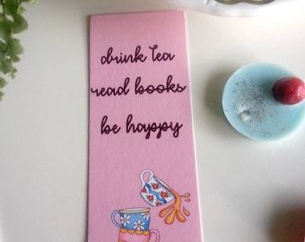 Bookmark Drink Tea