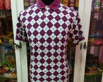 Columbia Sportswear Plaid Ringer Polo Shirt