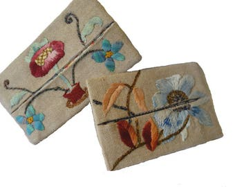 Set of two 21 and 22 tissue cases