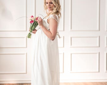 "Maternity wedding dress ""Inese"""