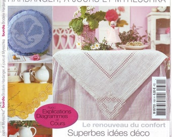 Burda Special Hardanger embroidery, has day and Myreschka