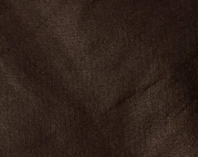 Sold individually, leaf with fine dark brown felt 30 x 20 cm