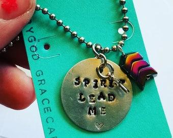 Spirit lead me necklace