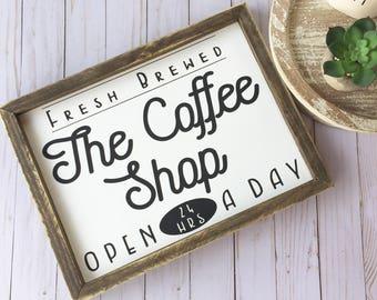 Coffee Sign | Coffee Bar Decor