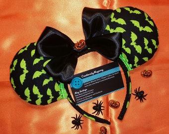 Halloween Ears, Halloween Mickey, Halloween Minnie,  Halloween Bat, Halloween Mickey Ears, Halloween Minnie Ears, Mickey Mouse, Minnie Mouse
