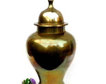 Vintage Brass Urn Made in India