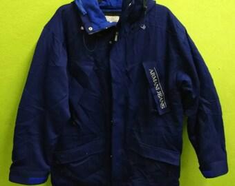 Vintage Armani Jeans Jacket Hooded