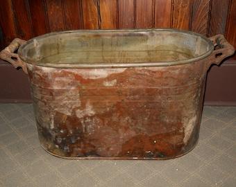 Vintage Copper Wash Basin