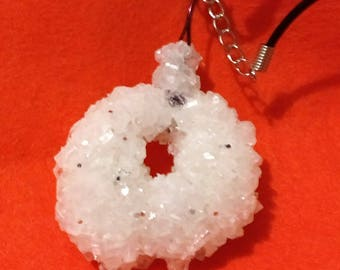 Handmade Borax crystal jewelry