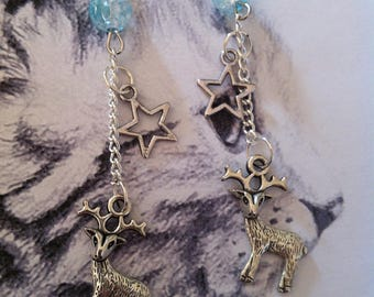 """""""King of the forest"""" earrings"""