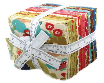 Lucky Day Fat Quarter Bundle by Momo for Moda Fabrics, 27 Fat Quarters, Complete Collection, Japan, Japanese