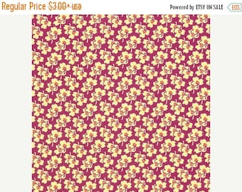 Sale Pansies in Cerise from the Eternal Sunshine Collection by Amy Butler - Cotton Quilting Fabric