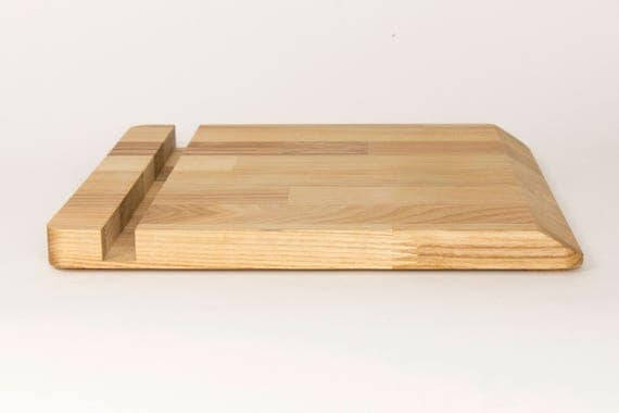 iPad stand iPad wood stand Wood tablet stand Desk