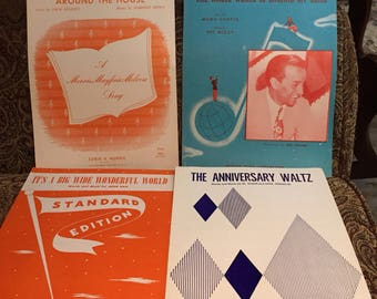 Sheet Music from the 1940's