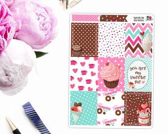 Sweetie Pie // Weekly Planner Kit