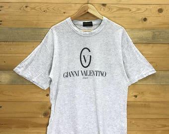 Rare! Vintage Gianni Valentino T Shirt Size M