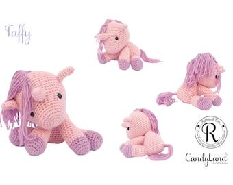 Pink Horse Unicorn Pegasus Pegacorn plush toy