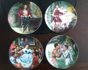 The King and I Collector Plates