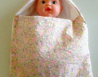 Pink Bunting in liberty betsy ann doll