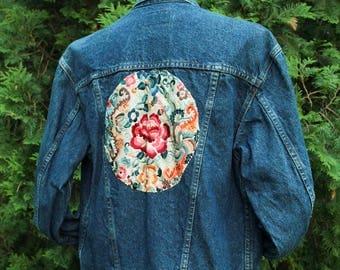 Hand Embroidered Vintage Levis Jacket