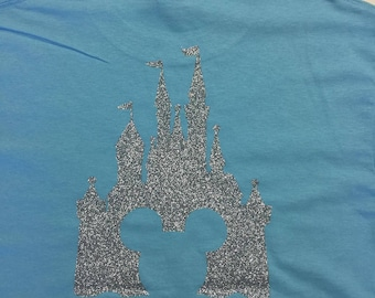 Mickey Castle shirt with initials