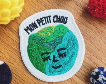 Mon Petit Chou Iron On Patch