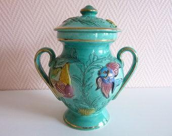 Ceramic Monazur Monaco chique table bin ref 215 E/Y